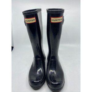 Hunter Women's Black Boots Size 2B/3G